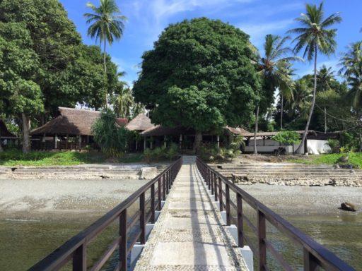 Maluku Diversの高機能桟橋