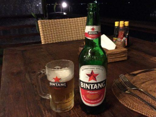 インドネシアといえばBINTANGビール