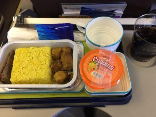 ガルーダ・インドネシア航空の機内食(国内線)
