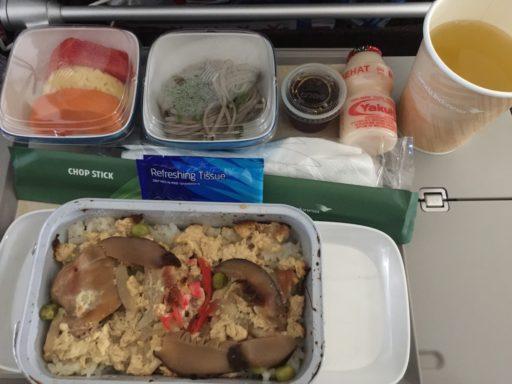 ガルーダ・インドネシア航空の機内食(国際線)