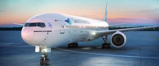 ガルーダ・インドネシア航空の機体