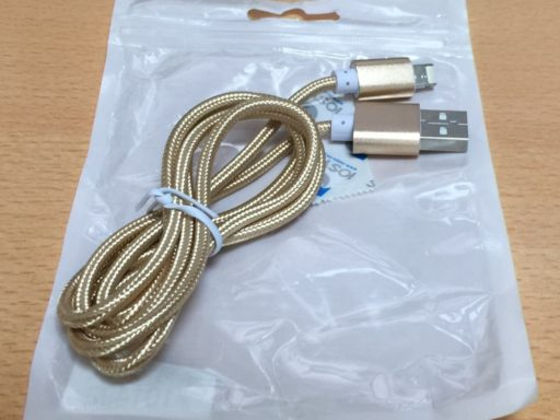 Lightning & Micro USBケーブル
