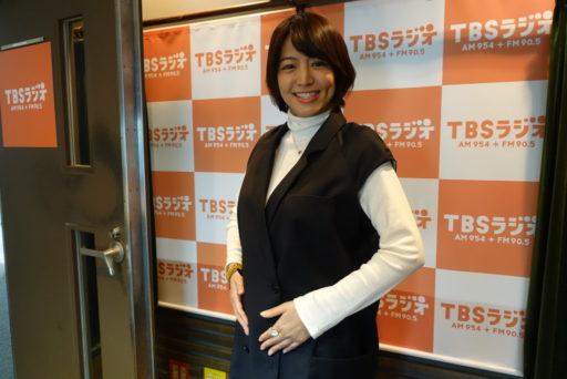 妊娠五ヶ月の赤江珠緒さん
