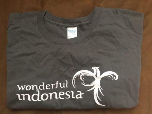 マリンダイビングフェア2017のワンダフル・インドネシアTシャツ