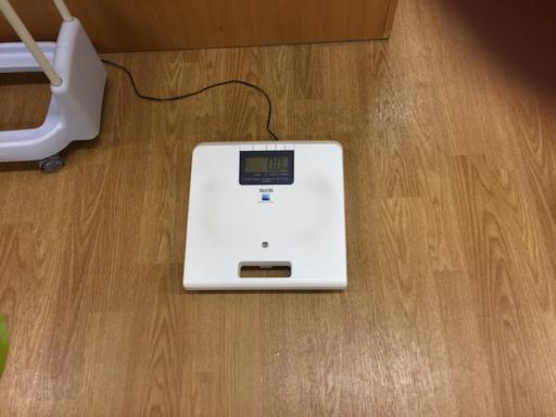 コナミスポーツ新百合ヶ丘の体重計