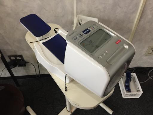 コナミスポーツ新百合ヶ丘の血圧計