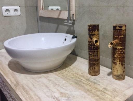 タラサリゾートレンベの洗面所