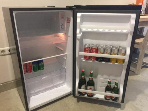 タラサリゾートレンベのお部屋の冷蔵庫