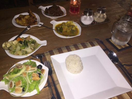タラサリゾートレンベの夕食