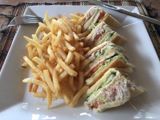 タラサリゾートレンベの昼食