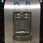 空港の給水所