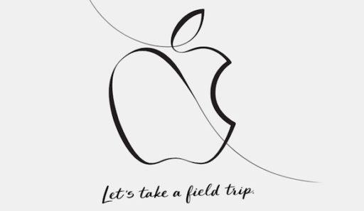 Appleのイベントのバナー