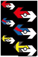 Pokémon GO 交換ステッカー