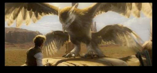 Thunderbird in the Fantastic Beasts