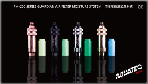 Aquatic Series Guardian Air Filter Moisture System
