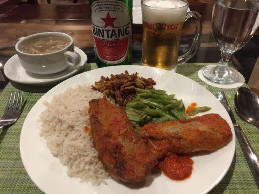 MALUKU RESORT & SPAの夕食