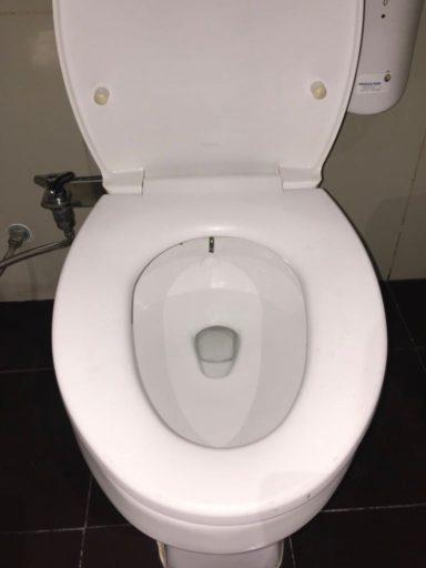 スカルノハッタ国際空港第3ターミナルUltimateのトイレ