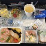 ANAジャカルタ便の機内食