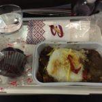 インドネシア国内線の機内食