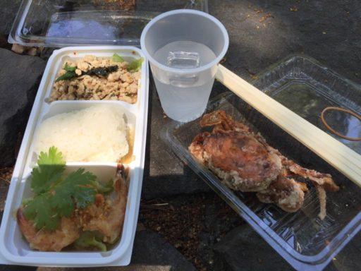 ラオスフェスティバルの料理