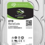 Seagate 8TB 内蔵HDDの交換品