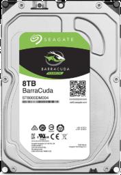 """Seagate BarraCuda 3.5"""" 8TB 内蔵ハードディスク"""