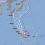台風19号、東京来襲か