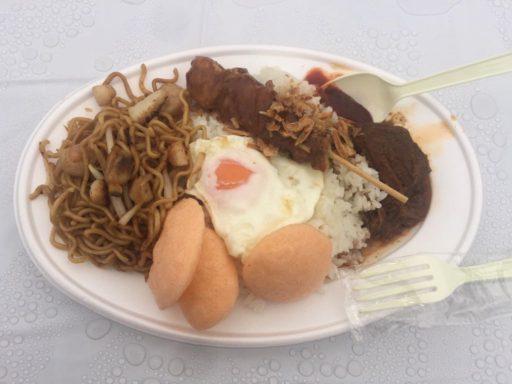 インドネシア市民友好フェスティバルのナシ・スペシャル