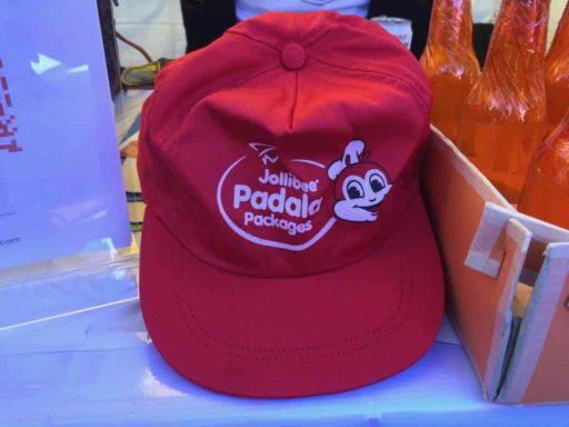 フィリピン・クリスマス・フェスティバル2019のJolibeeキャップ