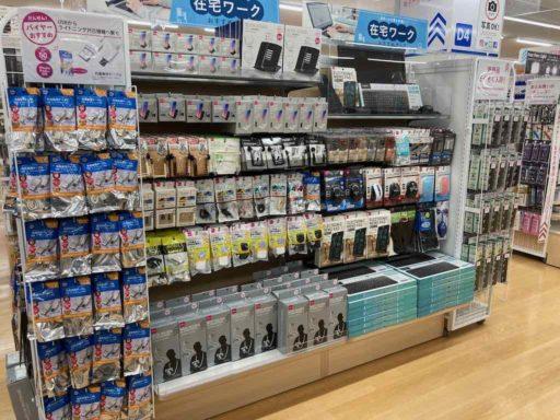 DAISODAISO新百合ヶ丘エルミロード店の売り場(IT周辺機器)