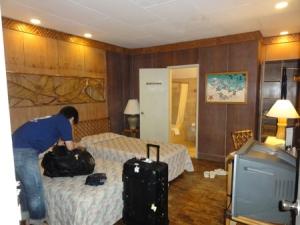 ブルーウォーターの室内